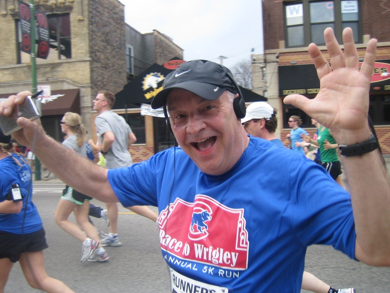Rich in Race to Wrigley 2009